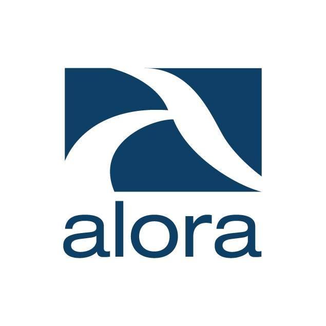 logotipo de empresa ALORA DESARROLLOS